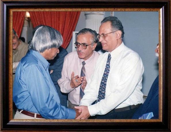 Dr. Vachhani with APJ Abdul Kalaam